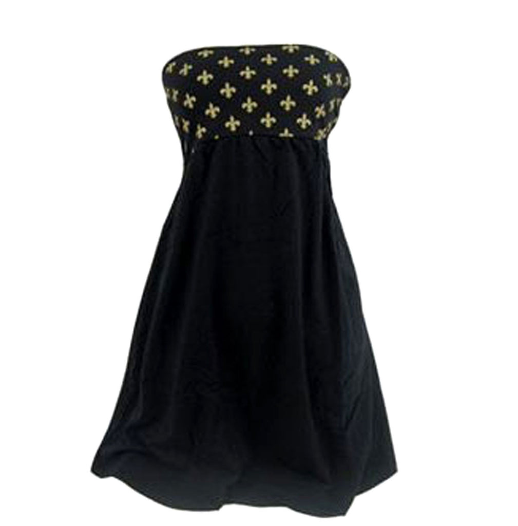 Strapless Fleur De Lis Dress Small
