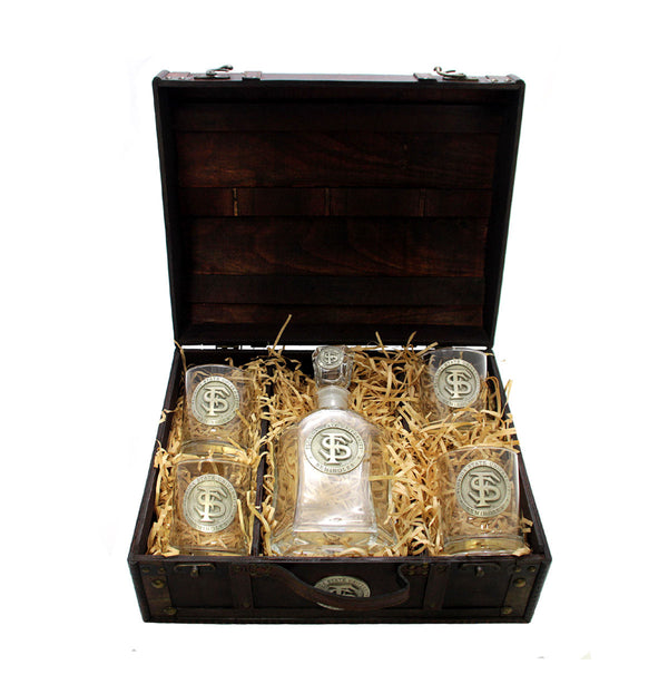 Boxed Decanter Set, Florida State University