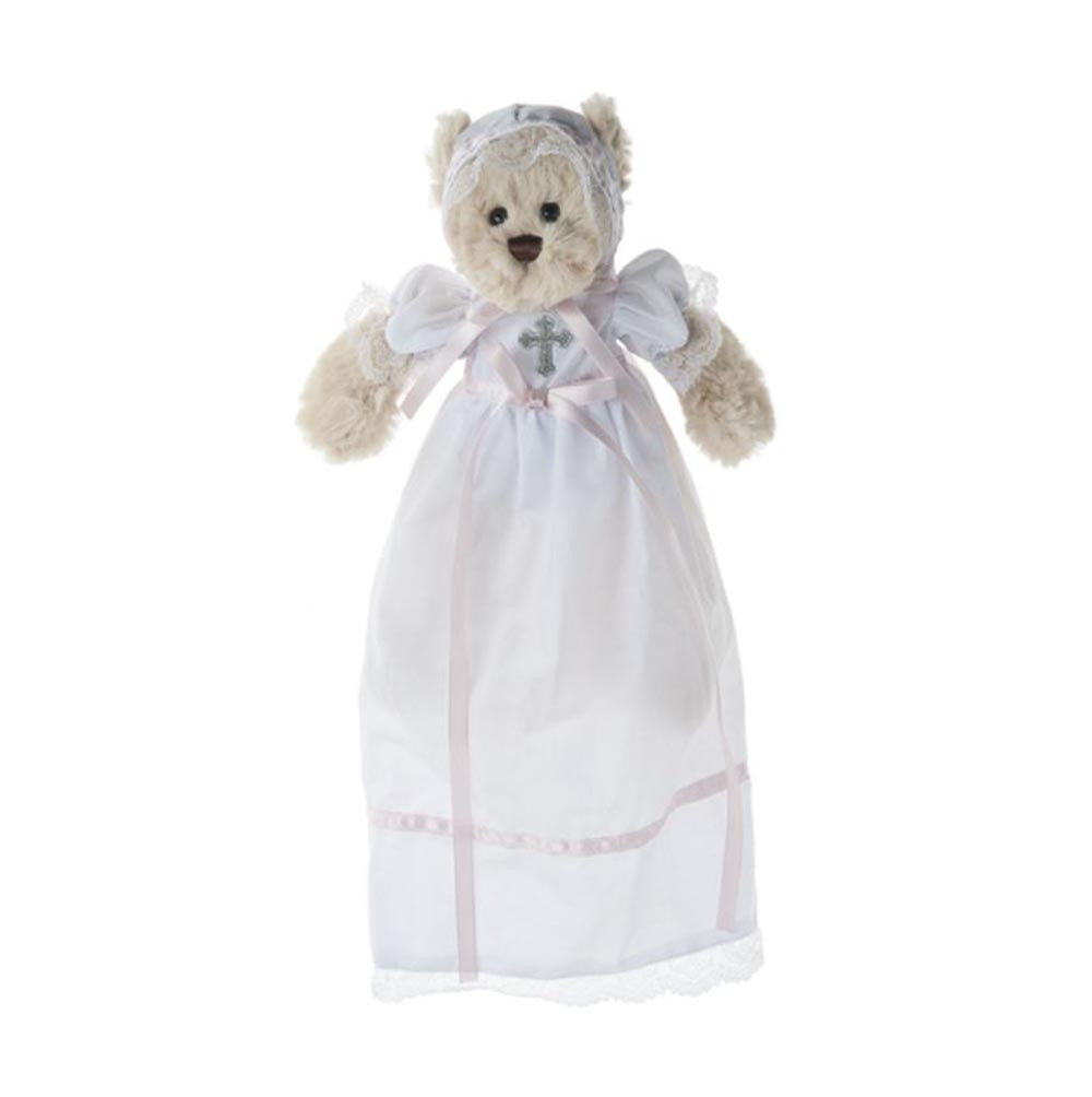 Mini Christening Bear Girl