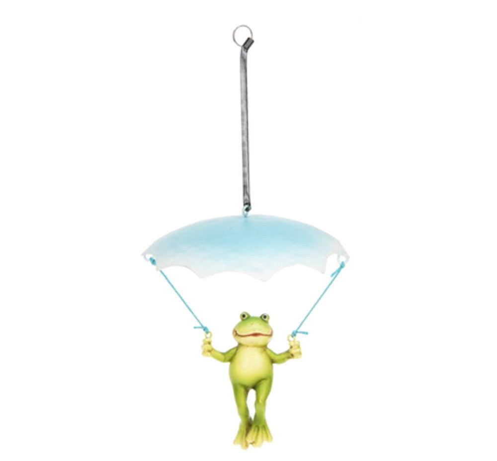 Springy Umbrella Frog - Blue