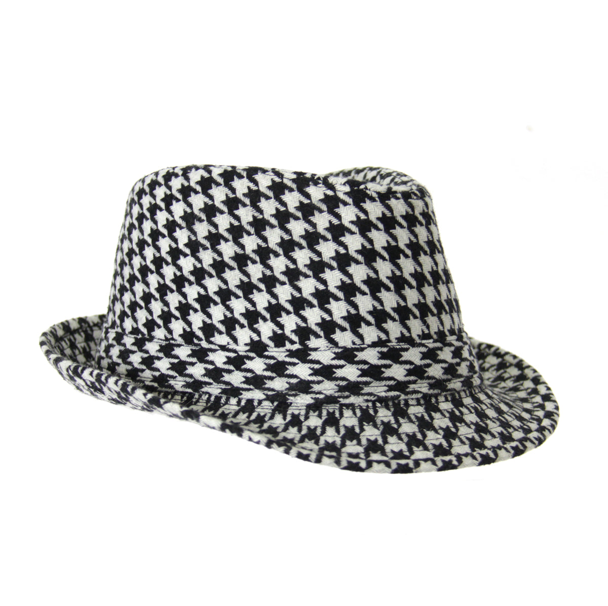 091553fbf Houndstooth Hat | JustHere.tk - Hot Popular Items