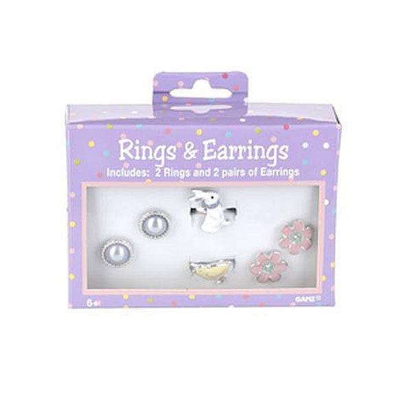 Rings & Earrings - Bunny & Chick