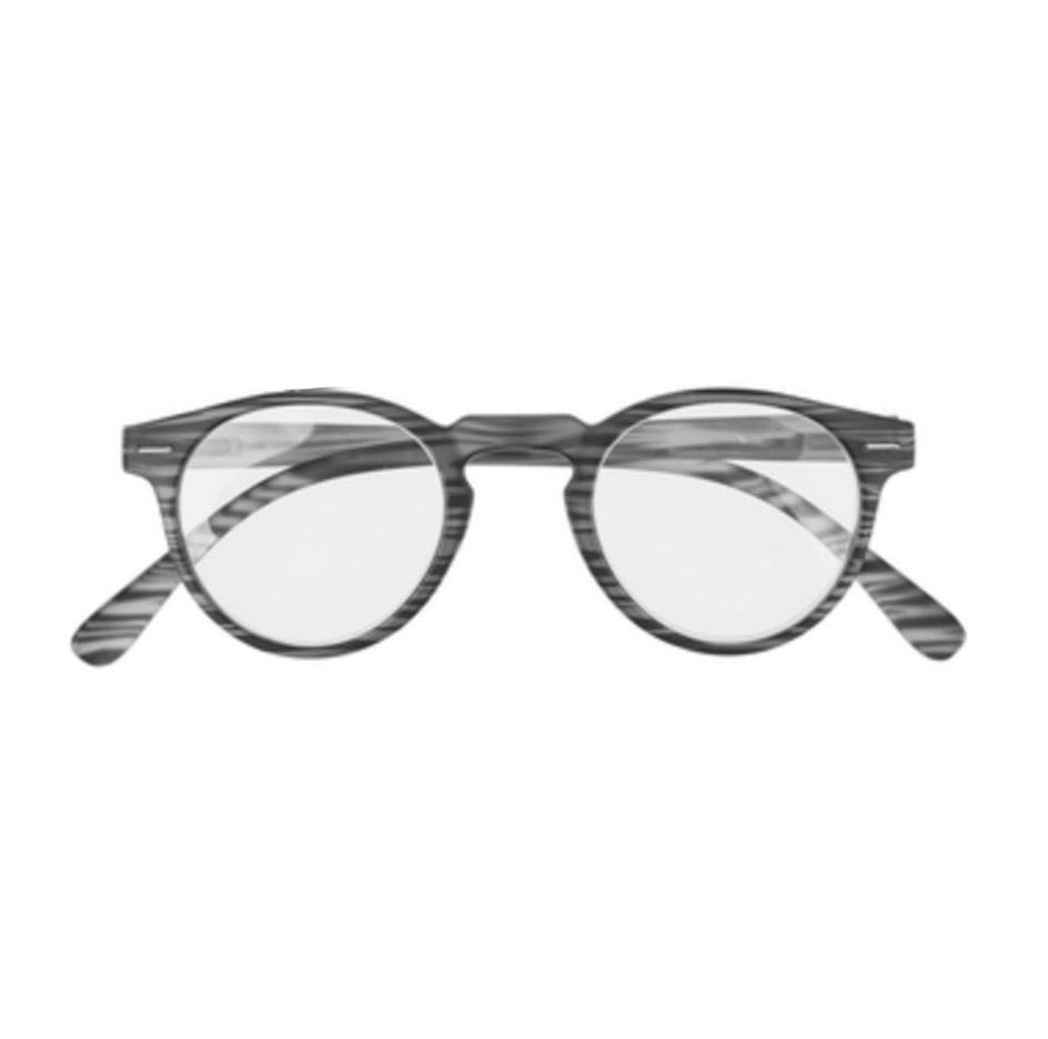 +2.00 Stripes Pattern Readers - Black