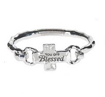 Cross Bracelet - You Are Blessed