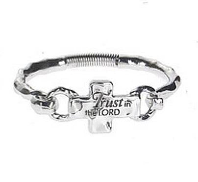 Cross Bracelet - Trust in the Lord
