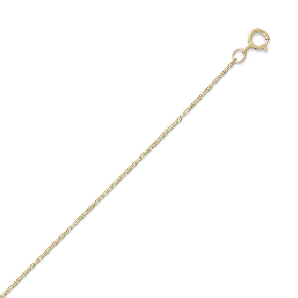 "14/20 Gold Filled Rope Chain 20"" (1mm)"