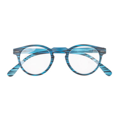 '+1.50 Stripes Pattern Readers - Blue