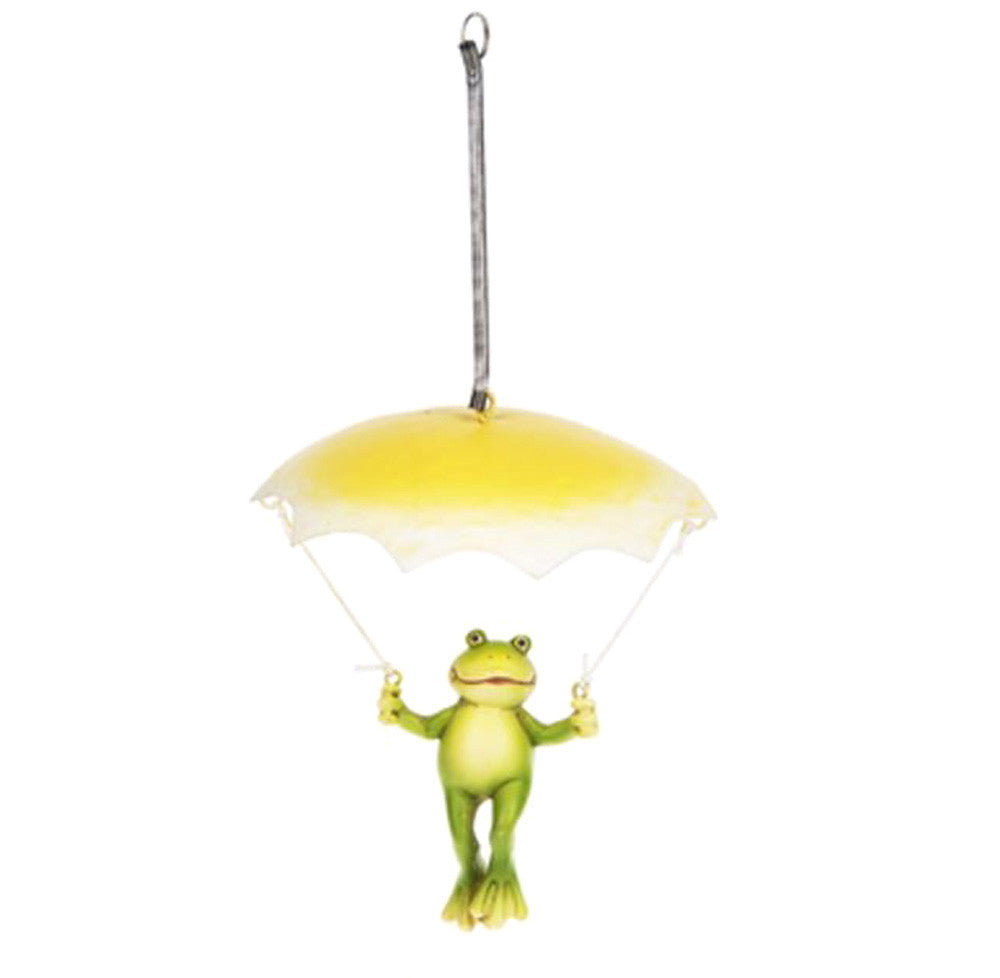 Springy Umbrella Frog - Yellow