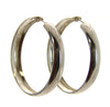 Sterling Silver Flex Hoop Earrings