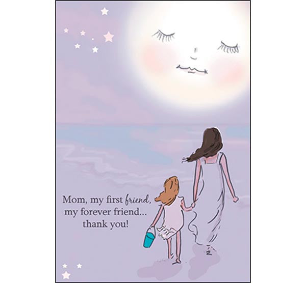 Mother's Day Card First Friend
