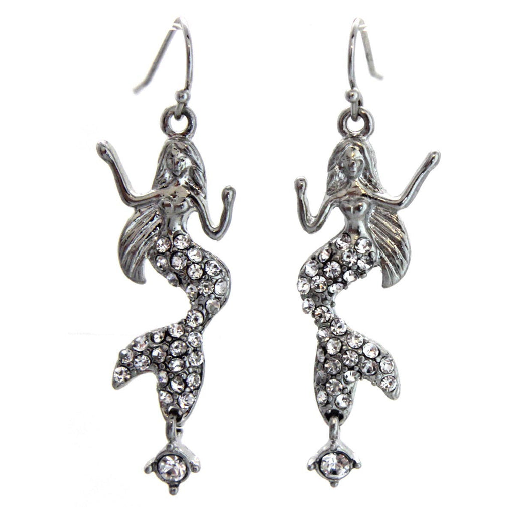 Mermaid Crystal Earrings