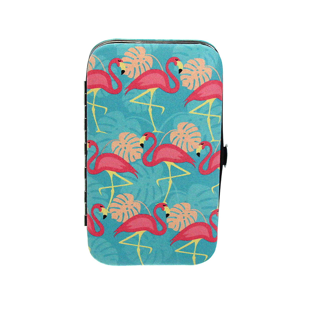 Flamingo Manicure Set - Blue