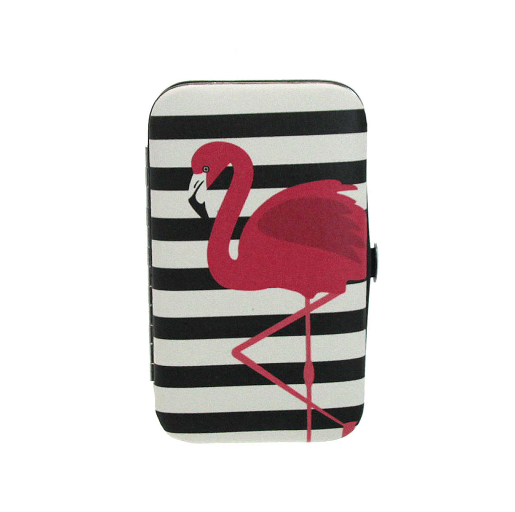 Flamingo Manicure Set - Stripe