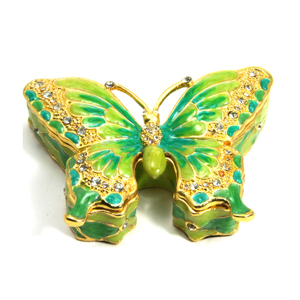 Butterfly Box and Brooch