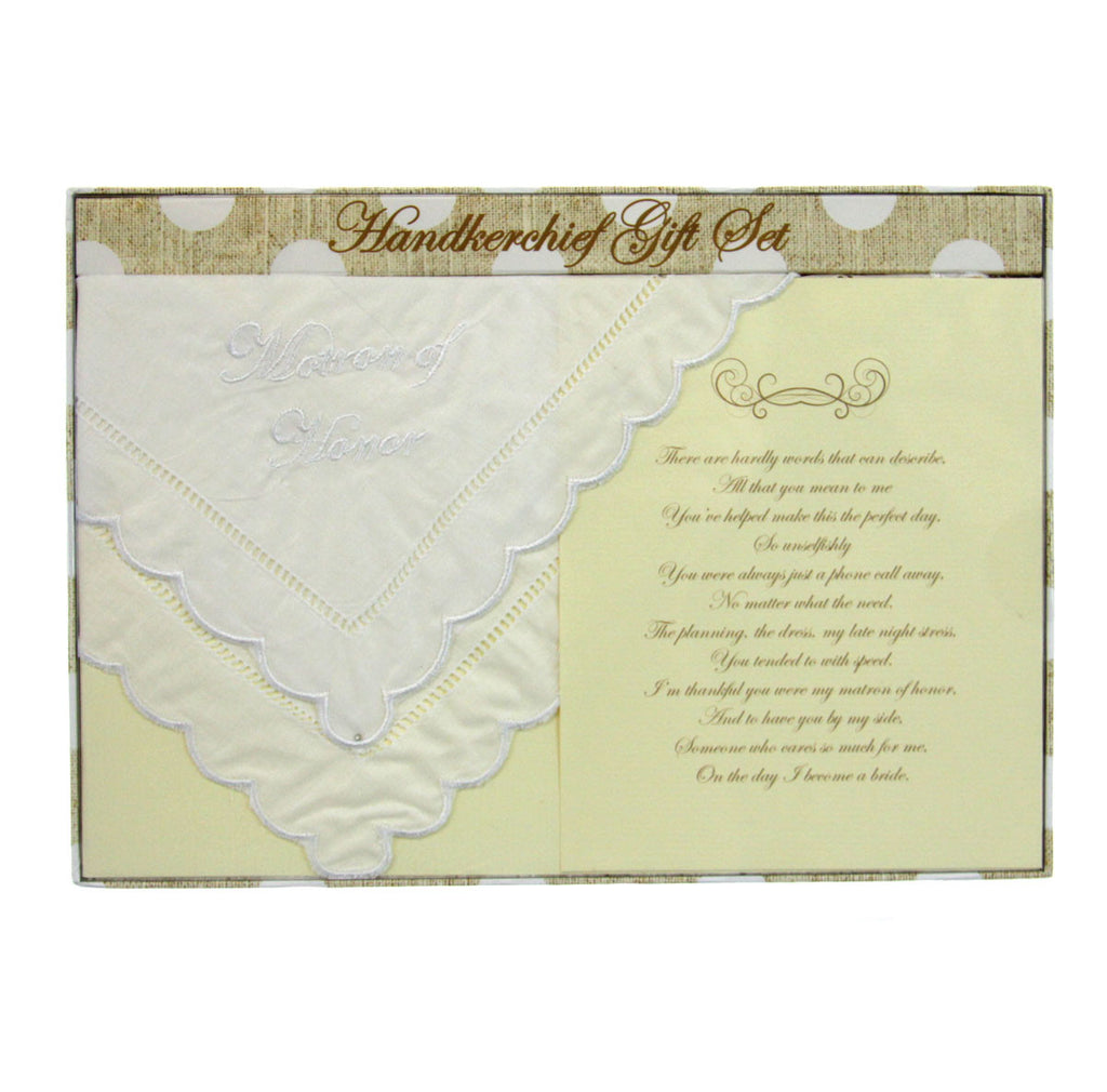 Handkerchief - Matron of Honor