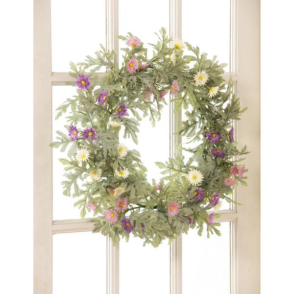 "20"" Wildflower Wreath"