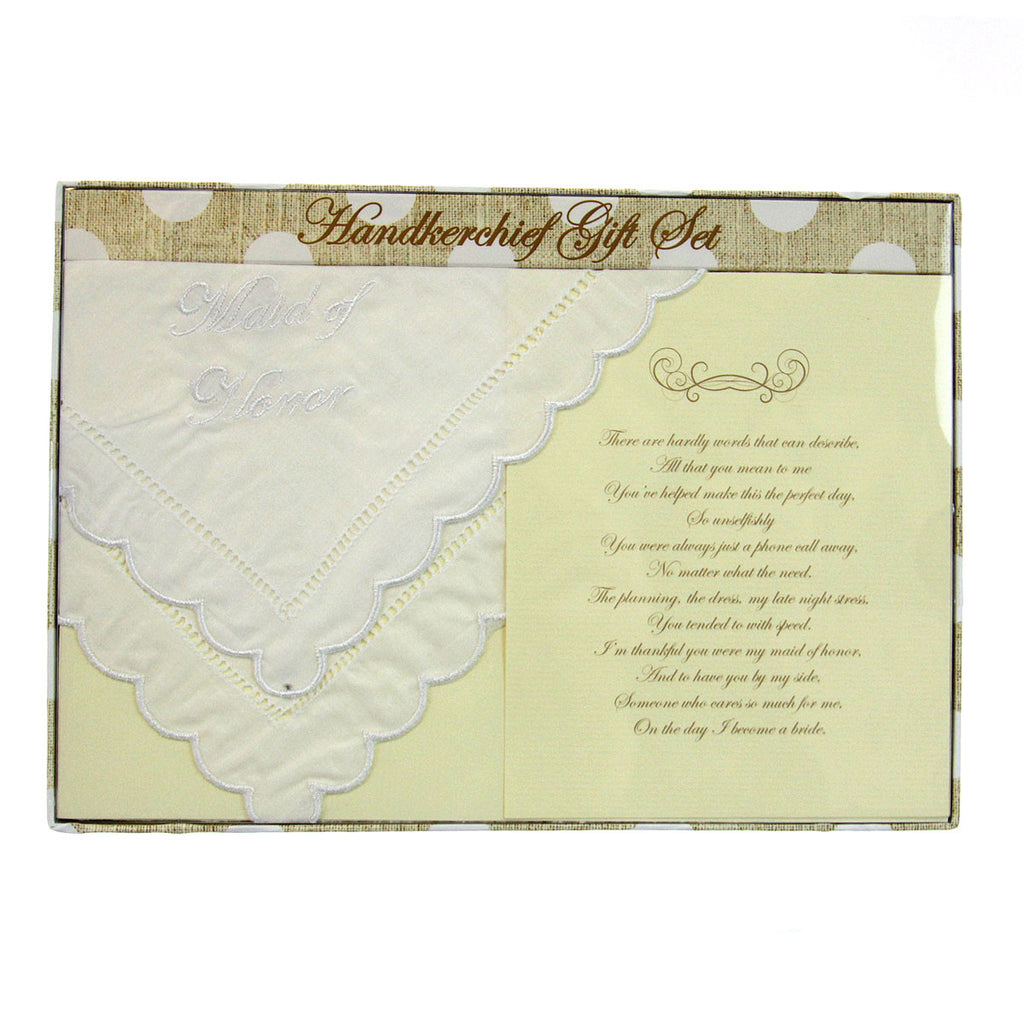 Handkerchief - Maid of Honor