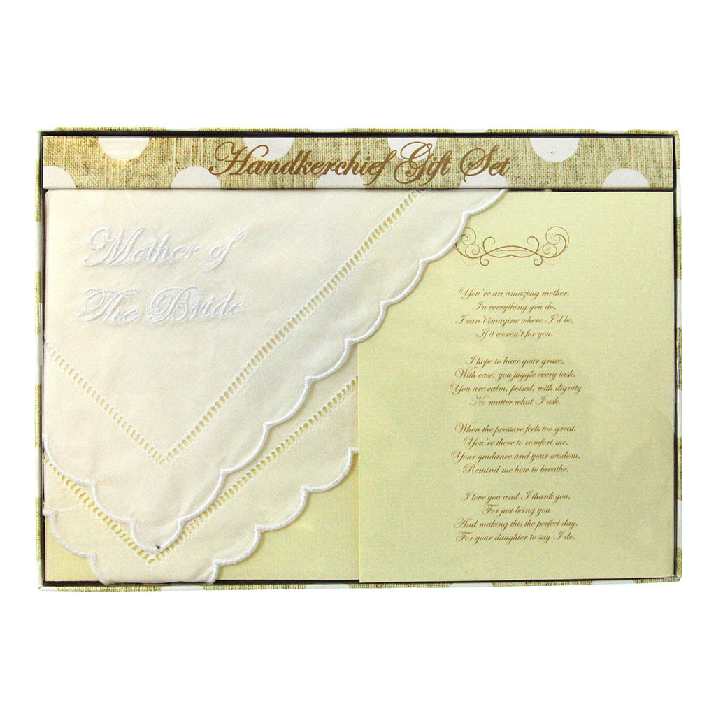 Handkerchief - Mother of the Bride