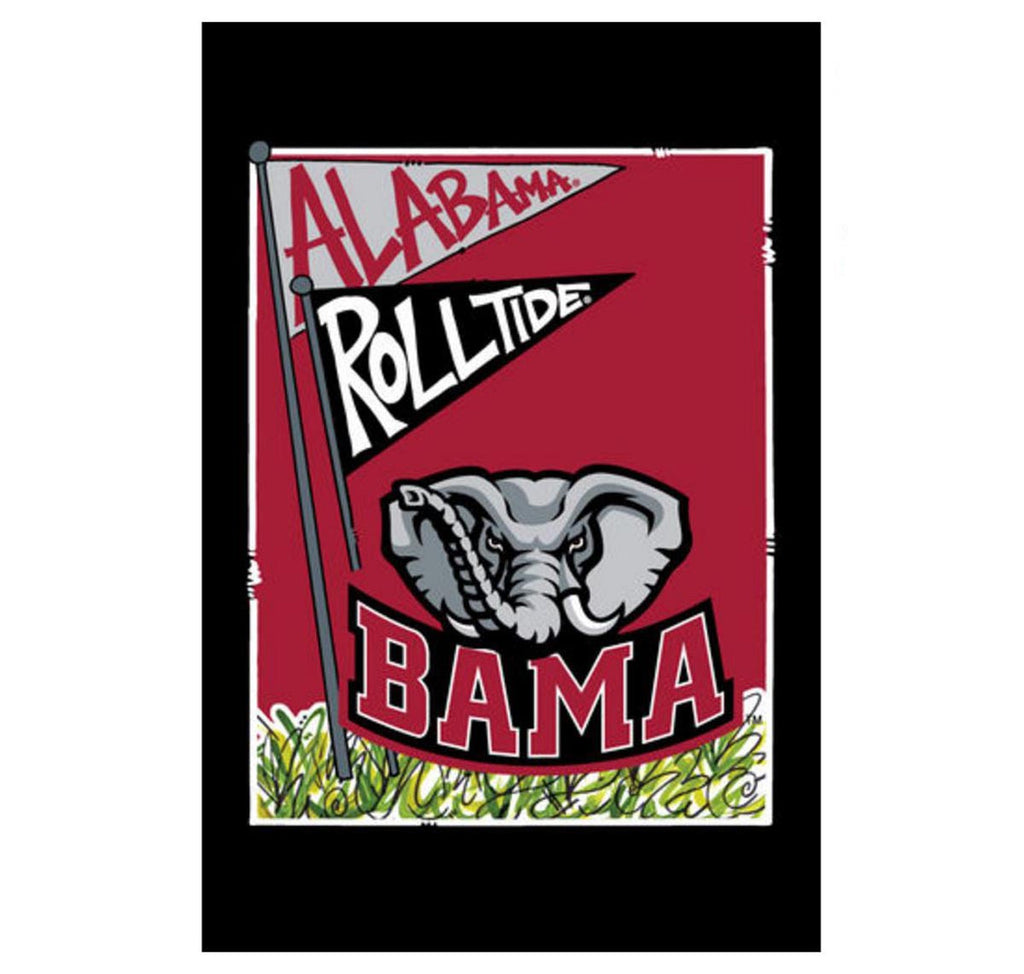 Alabama Mascot Garden Flag