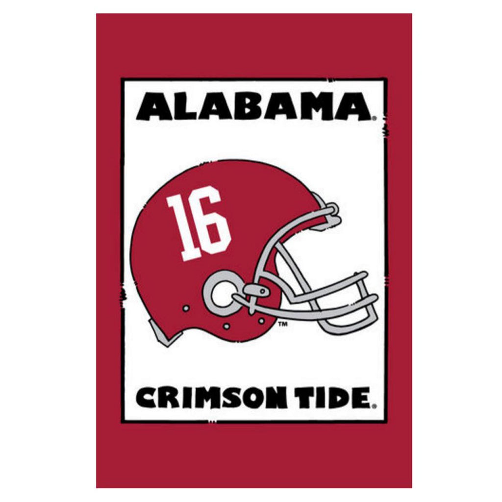 Alabama Helmet Garden Flag