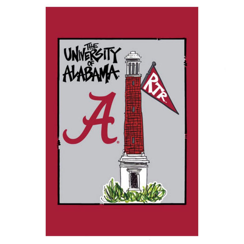Alabama Campus Garden Flag
