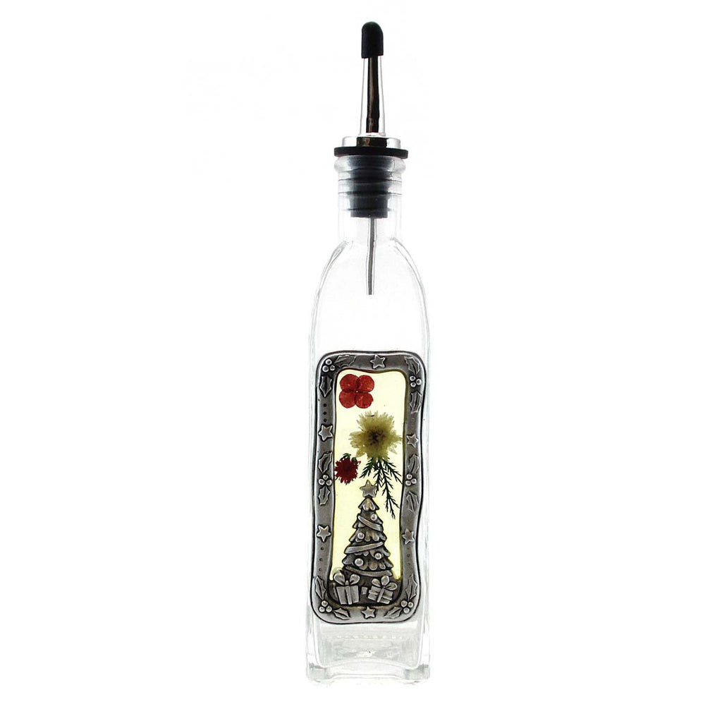 Oil Bottle Christmas Tree