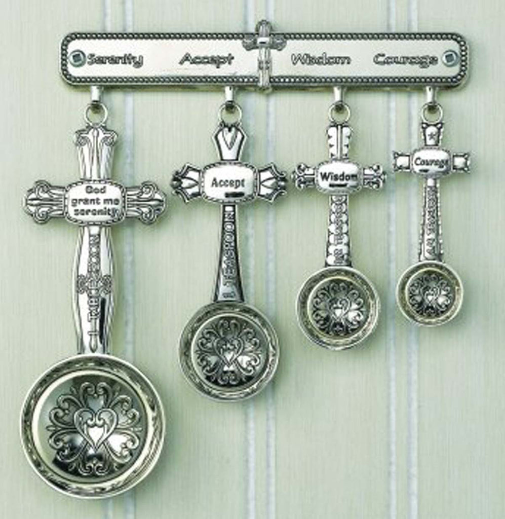 Measuring Spoons Serenity w/Rack