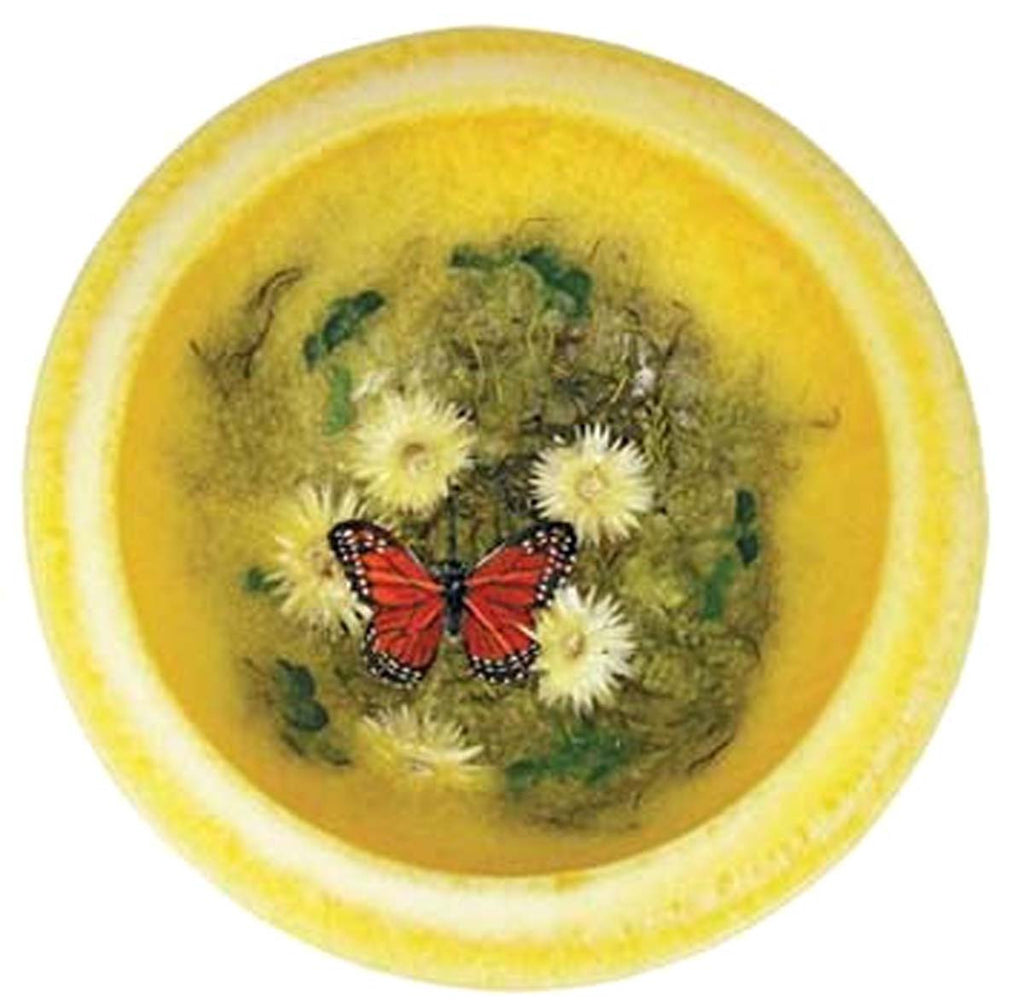 Butterfly Garden Wax Pottery