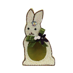 Collectible Beaded Bunny Box- Left