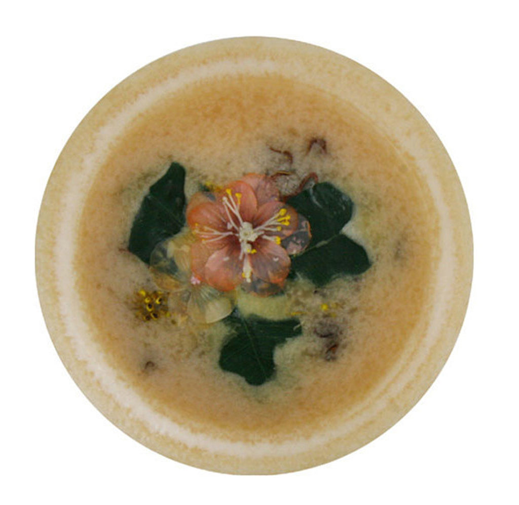 Georgia Peach Blossom Wax Pottery