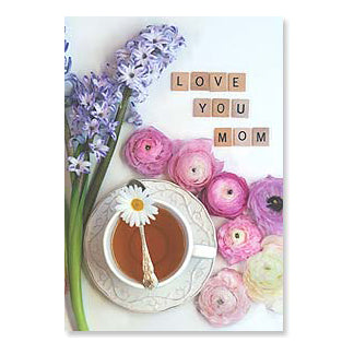 Mother's Day Card: Sometimes it's just nice to spell it out!