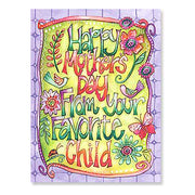 Mother's Day Card: If I had a hundred mothers...you'd still be my favorite.