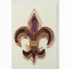 Fleur De Lis Invitation/Note Card