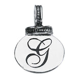 Initial Necklace/Keyring Charm - G