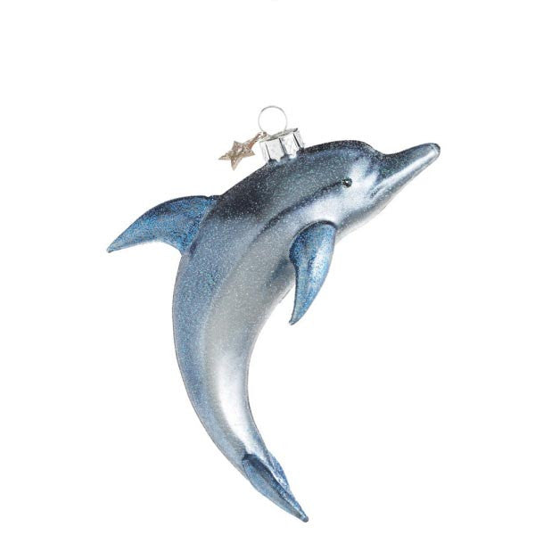 Dolphin Ornament Glass Works