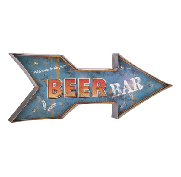 LED Light up Sign - Beer Bar