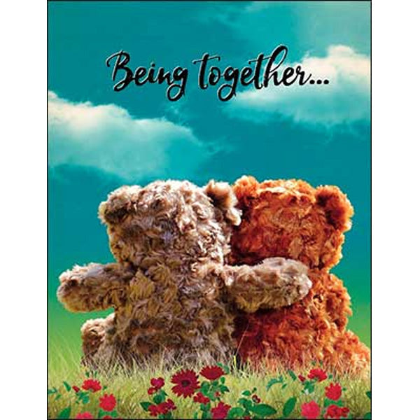 Friendship Card: Being together...is my favorite place to be.