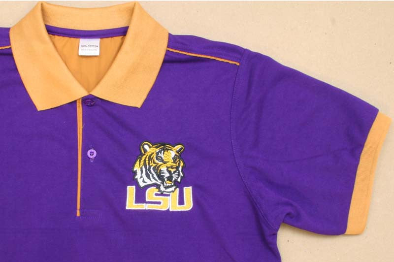LSU Polo Shirt XLarge