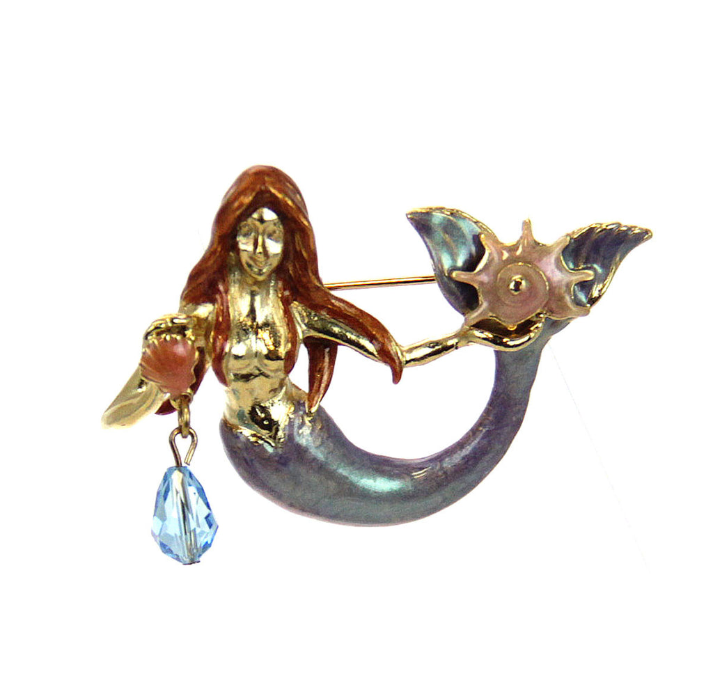Kirks Folly Mermaid Pin