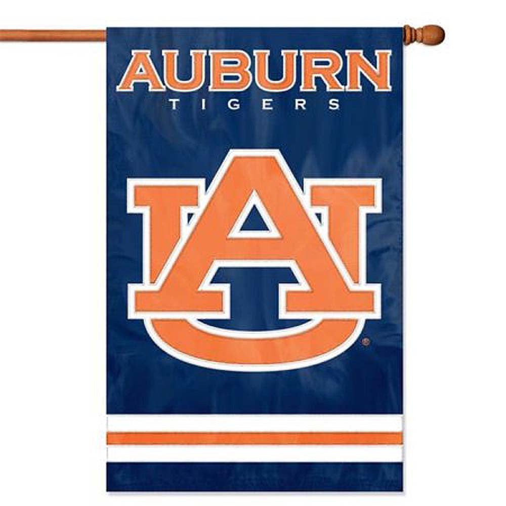 Applique & Embroidered Flag Auburn