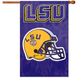Applique & Embroidered Flag LSU