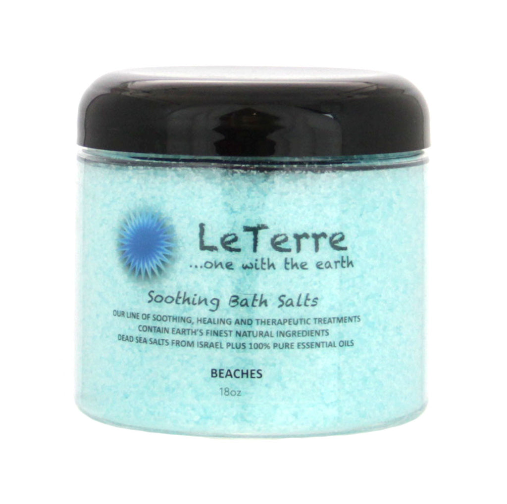 LeTerre Beaches Bath Salts 18oz