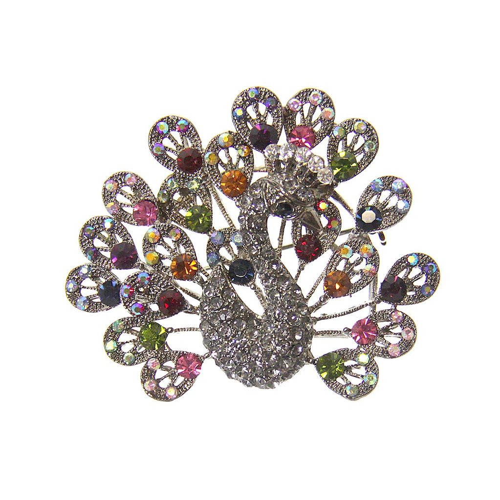 Peacock Pin Diamond