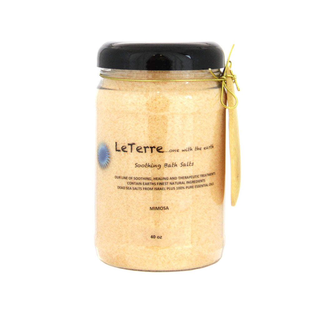 LeTerre Mimosa Bath Salts 40oz