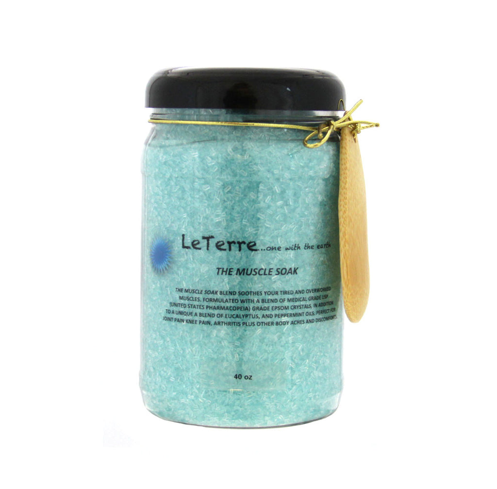 LeTerre The Muscle Soak 40oz