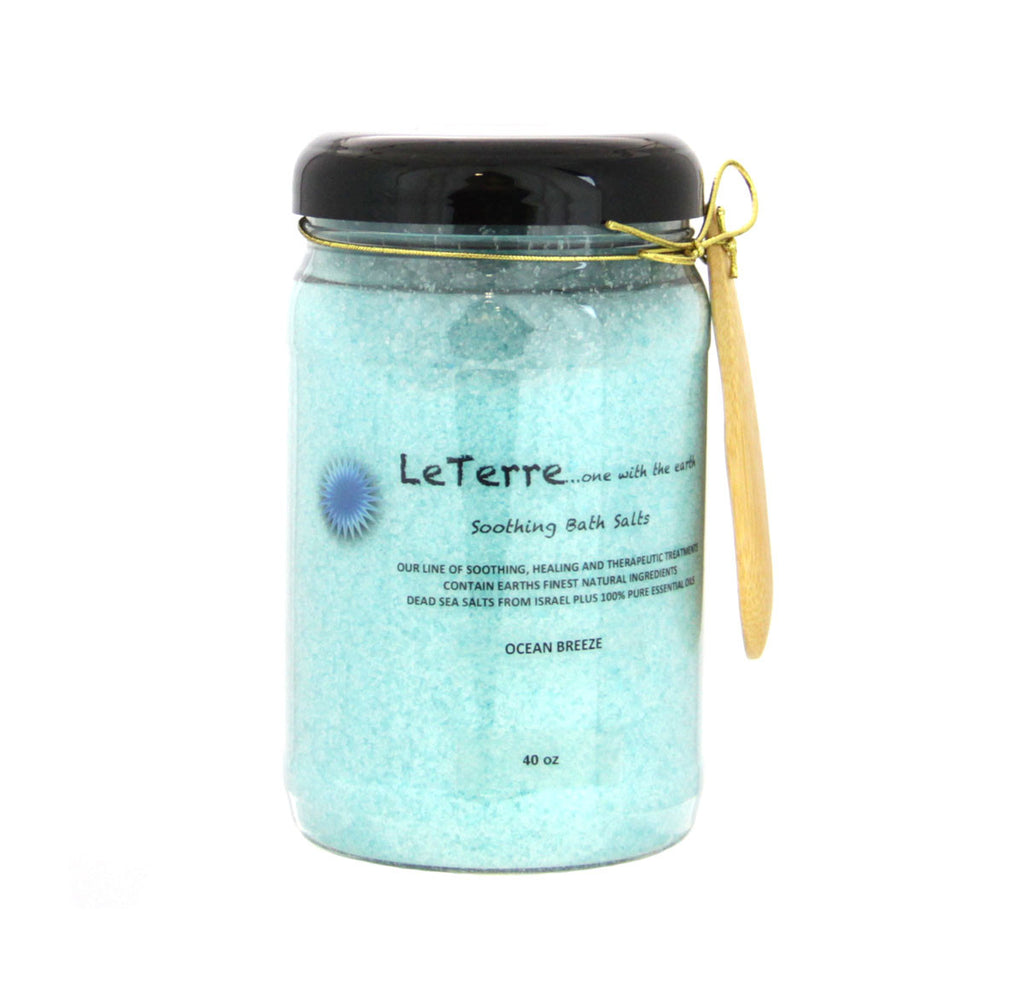 LeTerre Ocean Breeze Salts 40oz