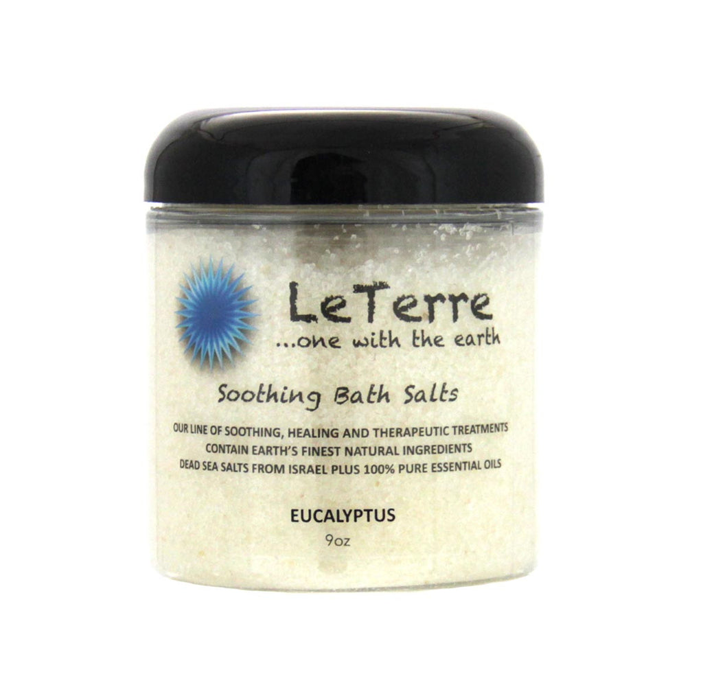 LeTerre Eucalyptus Bath Salts 9oz