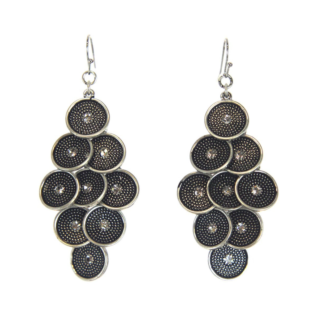 Chandelier Circle Earrings