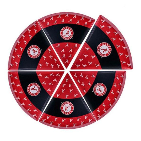 Alabama Crimson Tide Pizza Plate Set