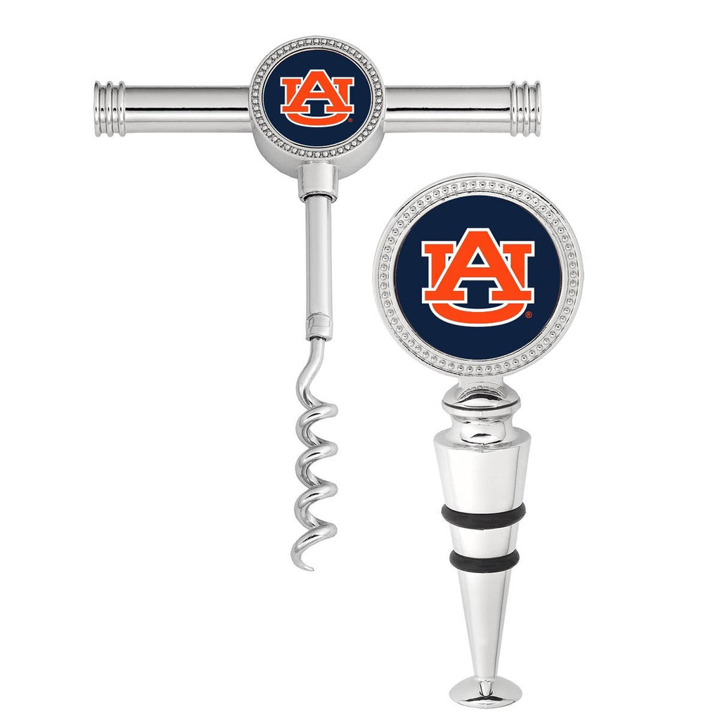 Auburn Wine Stopper Set